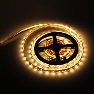 billige -5m led lysstrimler fleksible tiktok lys 300 lys 2835 smd varm hvit 12 v