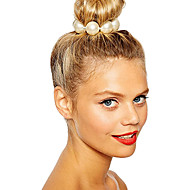 Women's Elegant Imitation Pearl Hair Ties Party Daily