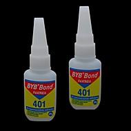 1PCS 15ml BYB Acrylic Art Bond Nail Glue Fastness Adhesiveness