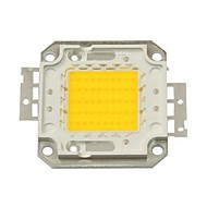ZDM DIY 50W 4500-5500LM Warm White 3000-3500K  Light Integrated LED Module (DC33-35V 1.5A) Street Lamp for Projecting Light  Gold Wire Welding of Copper Bracket