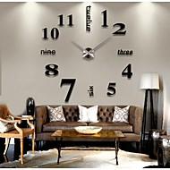 economico -creativo moderno stile fai da te 3d adesivo orologio da parete decorazione della casa