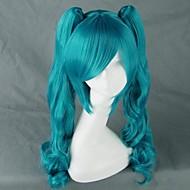 Vocaloid Hatsune Miku Cosplay Wigs Women's 30 inch Heat Resistant Fiber Anime