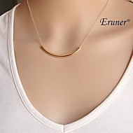 Women's Pendant Necklace Simple Fashion Small Alloy Golden Necklace Jewelry For Party Daily Casual Sports