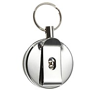Key Chain Key Chain Retractable Stainless Steel High Quality Pieces Gift