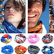 cheap -Neck Gaiter Neck Tube UV Resistant Quick Dry Lightweight Assorted Color Bandana Bike / Cycling Polyester for Men's Women's Adults' Camping / Hiking Cycling Mountain Bike MTB Road Bike