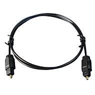6FT Digital Fiber Optic Cord Optical TosLink Audio Cable