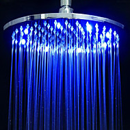 Contemporary Rain Shower Chrome Feature - Rainfall Eco-friendly LED, Shower Head