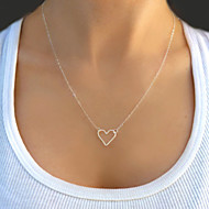 Women's Pendant Necklace Floating Love Ladies Fashion Alloy Necklace Jewelry For Party Daily Casual