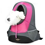 ネコ 犬 キャリーバッグ 携帯用 高通気性 ファブリック イエロー レッド グリーン