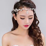 Alloy Headbands / Headwear with Floral 1pc Wedding / Special Occasion Headpiece