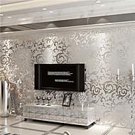 povoljno -Art Deco Početna Dekoracija Suvremena Zidnih obloga, Netkani papir Materijal Ljepila potrebna tapeta, Soba dekoracija ili zaštita za zid