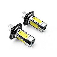ieftine -2pcs H7 / H4 / 1156 Mașină Becuri 7.5 W SMD LED / COB 700 lm coada de lumină Pentru Παγκόσμιο