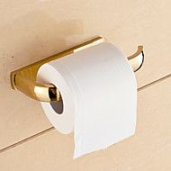 cheap -Toilet Paper Holders Contemporary Brass 1 pc - Hotel bath