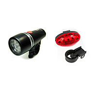 LED Bike Light Rechargeable Bike Light Set Front Bike Light Rear Bike Tail Light - Mountain Bike MTB Bicycle Cycling Waterproof Portable Alarm Warning AAA 200 lm Battery Cycling / Bike / Safety Light