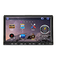 7 inch 2 DIN Windows CE 6.0 / Windows CE In-Dash Car DVD Player Built-in Bluetooth / GPS / iPod for Support / RDS / Subwoofer Output