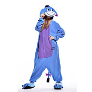 Adults' Donkey Kigurumi Pajamas  Onesie Pajamas Polar Fleece Blue Cosplay For Animal Sleepwear Cartoon Halloween Festival / Holiday / Christmas