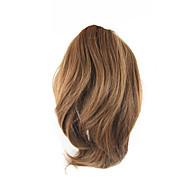 Com Presilha Rabos-de-Cavalo Urso Claw / Jaw Clip Cabelo Sintético Pedaço de cabelo Alongamento Encaracolado