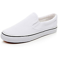 Men's Comfort Shoes Canvas Spring / Summer Loafers & Slip-Ons White / Outdoor