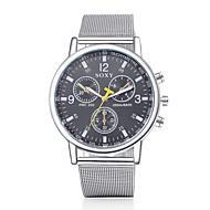 Men's Fashion Round Wristwatches Glass Analog Quartz Watch Casual Business Style Wrist Watch Cool Watch Unique Watch
