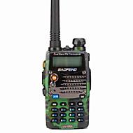 BAOFENG UV-5RA Walkie Talkie Intercom Handheld / Digital Voice Prompt / Dual Display 1.5KM-3KM 1.5KM-3KM 128 1800 mAh 5W Two Way Radio / 136-174MHz / 400-520MHz /Dual-Band Transceiver