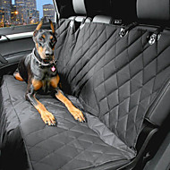 Pets Dog Car Seat Cover Pet Carrier Waterproof Portable Black / Oxford Fabric