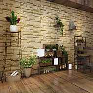 3D Home Decoration Contemporary Wall Covering, PVC/Vinyl Material Adhesive required Wallpaper, Room Wallcovering