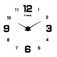 cheap -Casual / Modern Contemporary Stainless Steel / Acrylic / Metal Round Novelty / Family Indoor / Outdoor / Indoor / Outdoor AA Decoration Wall Clock Digital Brushed / Silver No