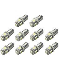 baratos -10pçs BA9S Carro Lâmpadas 1 W SMD 5050 120 lm 5 LED Lâmpada de Seta For Universal