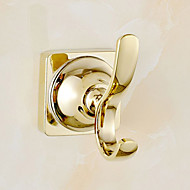 Robe Hook Contemporary Brass 1 pc - Hotel bath