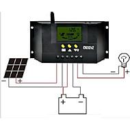 cm3024z 30a 12v / 24v lcd régulateur solaire d'affichage à cristaux liquides