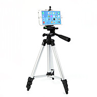 cheap -Aluminium 4 sections Cellphone Tripod Mobile Phone Support Aluminum Light Weight Portable with Cell Phone Holder Travel Folding Size for Phone 11/Pro 7/8plus XR Xs Max