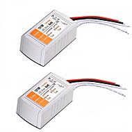 2 ชิ้น ac 110-240 โวลต์เป็น dc 12 โวลต์ 18 วัตต์นำแปลงแรงดันไฟฟ้า