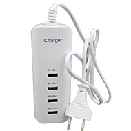 cheap -Home Charger USB Charger EU Plug Multi Ports 4 USB Ports 2 A / 1 A for