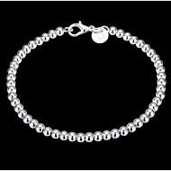 Dames Sierstenen crossover Armbanden met ketting en sluiting Bedelarmbanden - Sterling zilver Dames, Klassiek Armbanden Sieraden Zilver Voor Kerstcadeaus Bruiloft Feest Dagelijks Causaal