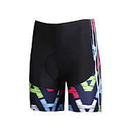 ILPALADINO Women's Cycling Padded Shorts Bike Shorts Pants Bottoms Windproof Breathable 3D Pad Sports Lycra Black Road Bike Cycling Clothing Apparel Relaxed Fit Bike Wear / Quick Dry / Quick Dry