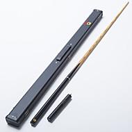 omin snooker cue professional 3-4 black ebony butt ash shaft handmade billiard cue emerald