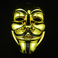 Cosplay Mask V For Vendetta Mask Anonymous Movie Guy Fawkes Halloween Masquerade Cosplay Mask Party Costume Prop