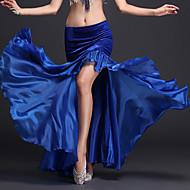 Belly Dance Skirt Ruffles Women's Performance Natural Milk Fiber Polyester