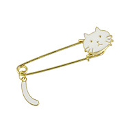 Women's Brooches Ladies Fashion Brooch Jewelry White Black For Casual