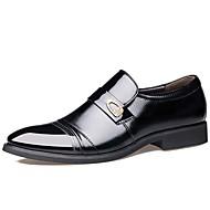 สำหรับผู้ชาย อ็อกซ์ฟอร์ด รองเท้าอย่างเป็นทางการ รองเท้าหนัง รองเท้าสบาย ๆ ธุรกิจ ที่มา พรรคและเย็น กลางแจ้ง หนังสัตว์ กันน้ำ ระบายอากาศได้ ป้องกันไฟฟ้าสถิตย์ สีดำ สีน้ำตาล ตก ฤดูใบไม้ผลิ / หมุดย้ำ