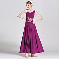Ballroom Dance Dresses Women's Elastic Woven Satin / Modern Dance