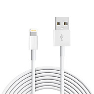 cheap -USB 2.0 / Lightning Cable >=3m / 9.8ft Normal TPE USB Cable Adapter For iPad / Apple / iPhone