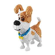 BALODY Building Blocks Military Blocks Construction Set Toys 2100 pcs Dog Diamond Movie Character compatible Legoing Creative Cool Classic & Timeless Chic & Modern Cartoon Boys' Girls' Toy Gift