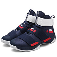 Men's Comfort Shoes Fabric Spring / Summer / Fall Athletic Shoes Basketball Shoes Slip Resistant Black / Blue / White / Green / Black / Yellow / Lace-up