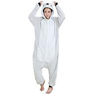 Adults' Kigurumi Pajamas Koala Onesie Pajamas Flannel Toison Gray Cosplay For Men and Women Animal Sleepwear Cartoon Festival / Holiday Costumes