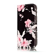 Case For Samsung Galaxy A5(2017) / A3(2017) Wallet / Card Holder / with Stand Full Body Cases Flower Hard PU Leather for A3(2017) / A5(2017) / A5(2016)