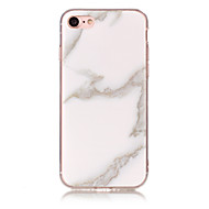 Case For Apple iPhone 7 Plus / iPhone 7 / iPhone 6s Plus IMD Back Cover Marble Soft TPU