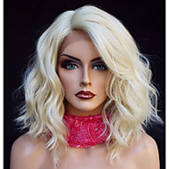 Synthetic Lace Front Wig Loose Wave Blonde Bob Haircut / Side Part Synthetic Hair Heat Resistant / Fashion / Natural Hairline Blonde Wig Women's Short / Medium Length Lace Front