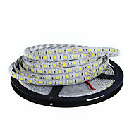 cheap -5m LED Light Strips Flexible Tiktok Lights 300 LEDs 5050 SMD 10mm Warm White White Cuttable Linkable Suitable for Vehicles 12 V Self-adhesive IP44