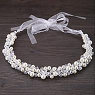 abordables -Cristal / Imitation de perle Diadèmes / Bandeaux / Fleurs avec Fleur 1pc Mariage / Occasion spéciale / De plein air Casque